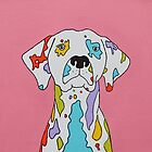Coloured Dalmatian  by Adam Regester