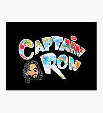 Captain Ron Photographic Print