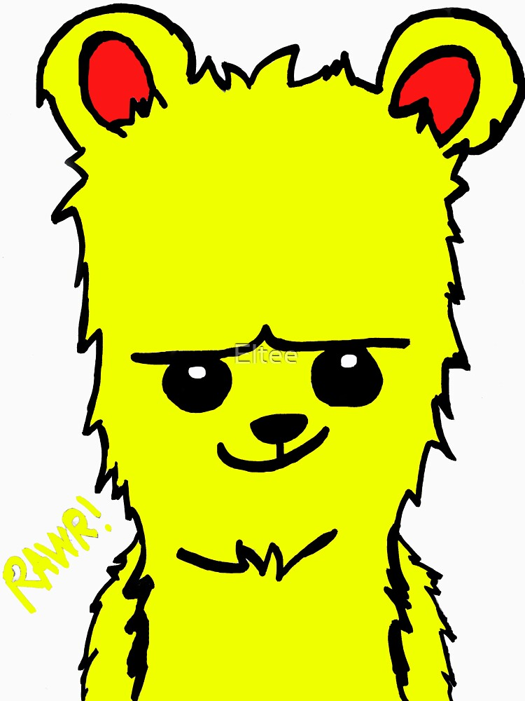 Bear! Yellow by Eltee