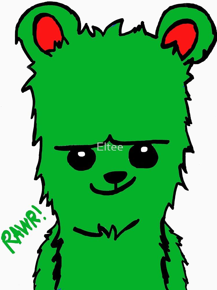 Bear! Green by Eltee