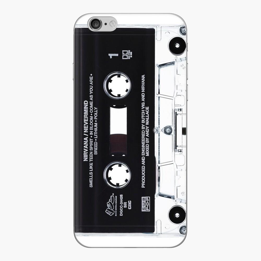 Musik Tape Cover Nirvana Grunge iPhone Klebefolie