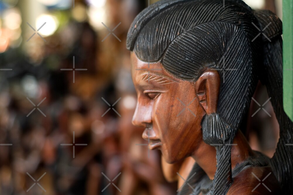 Carved Woman by Angie Seiffert