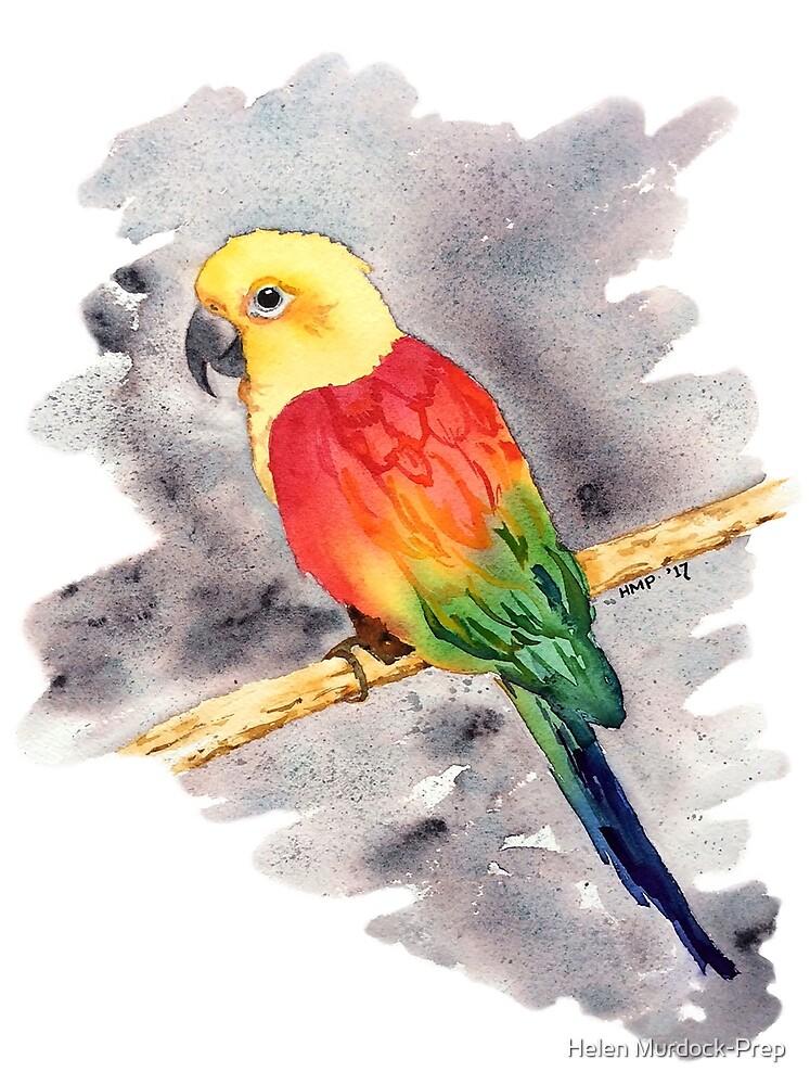 Rainbow Parrot by Helen Murdock-Prep