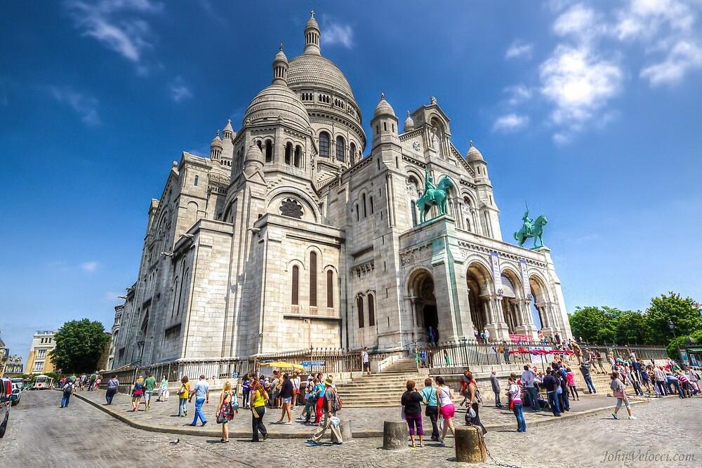 Sacre Coeur, Paris by John Velocci
