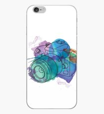 Aquarell dSLR auf Weiß iPhone-Hülle & Cover