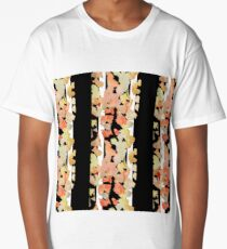 Autumn forest with birches Long T-Shirt