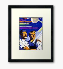 Fully Automated Luxury Gay Space Communism Framed Print