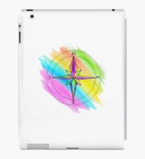 Bright Colourful Art Compass iPad Case/Skin