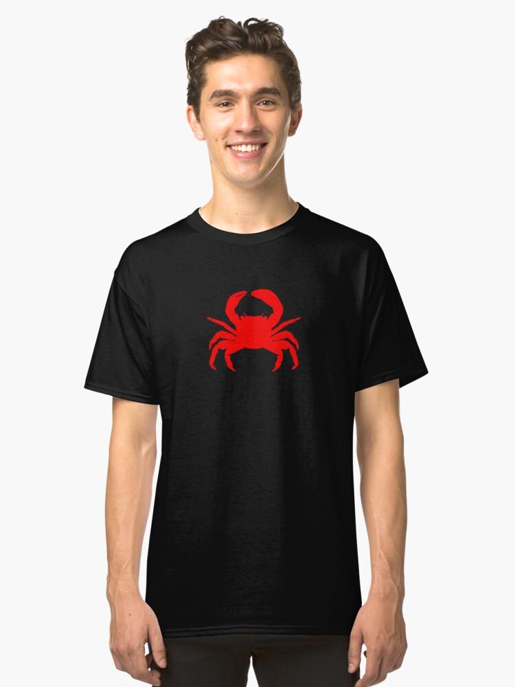 Crab Shirt   Crab Shirts   Crab Tshirt   Crab Tshirts   Crab T Shirt   Crab T Shirts Classic T-Shirt Front