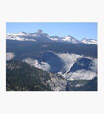Panoramic View of Yosemite Valley Photographic Print