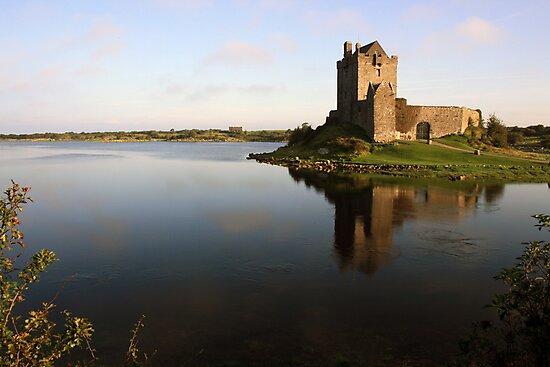 Dungaire castle view 2 by John Quinn