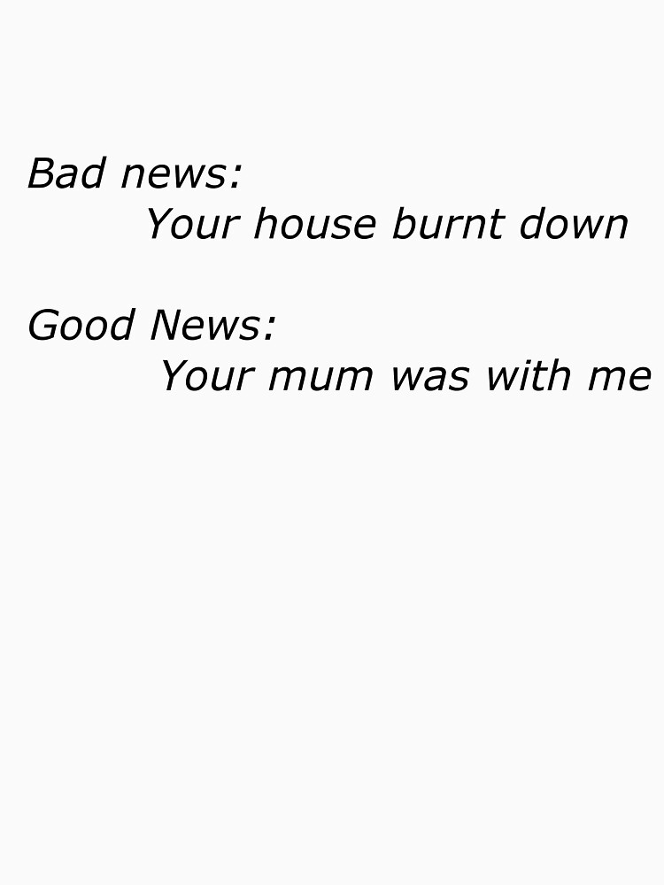Good news bad news white by mrsquiggles