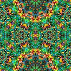 Fractal Floral Abstract G87 by MEDUSA GraphicART