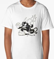 The Devil from Cuphead Long T-Shirt