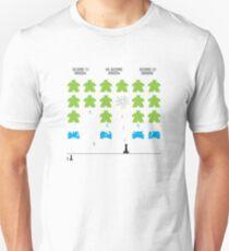 Meeple Invaders Slim Fit T-Shirt