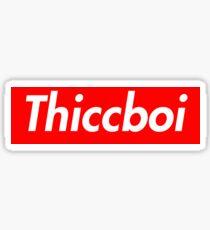 Supreme Thiccboi Sticker