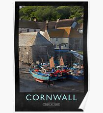 Cornwall Railway Poster Poster