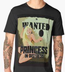 Blonde Princess In Distress Wanted  Men's Premium T-Shirt