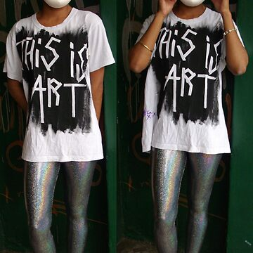 This is Art (the shirt prototype 1) by Lasaration
