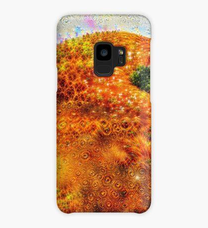#DeepDreamed Frozen Orange Case/Skin for Samsung Galaxy