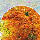#DeepDreamed Frozen Orange by blackhalt