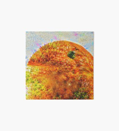 #DeepDreamed Frozen Orange Art Board