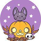 Pumpkin Cats Son by nikury