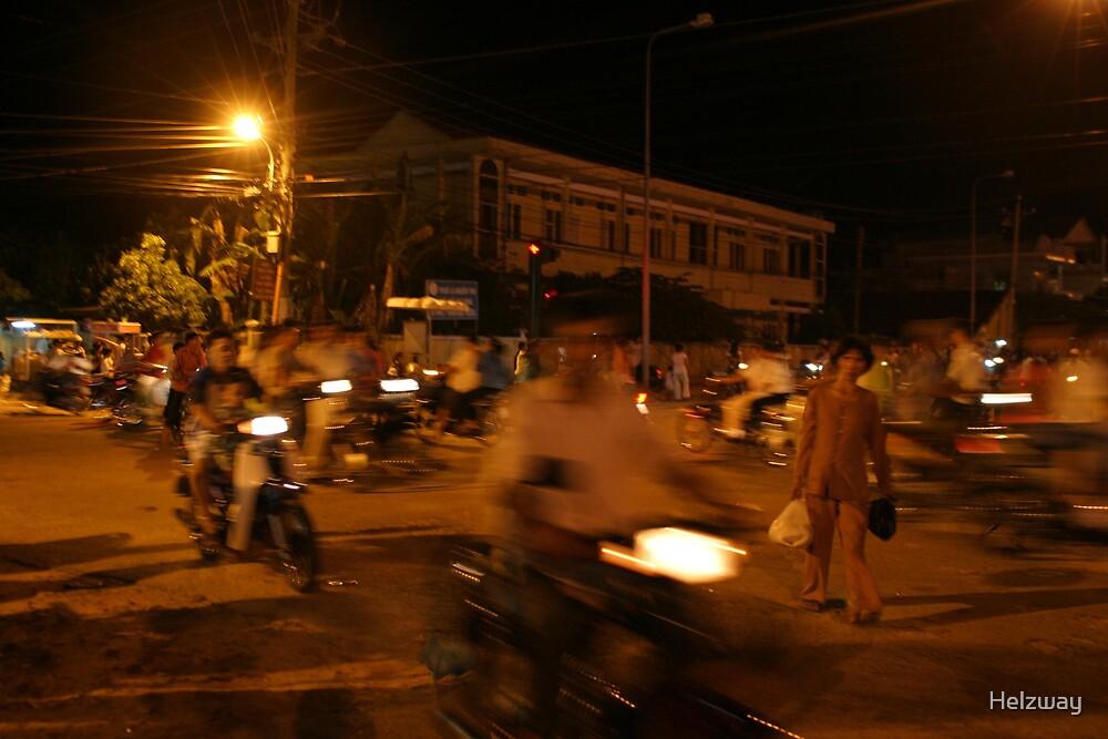 Phu Quoc nightlife by Helzway