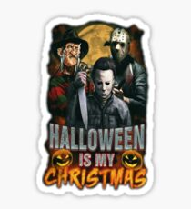 Halloween Is My Christmas: Horror Icons Sticker