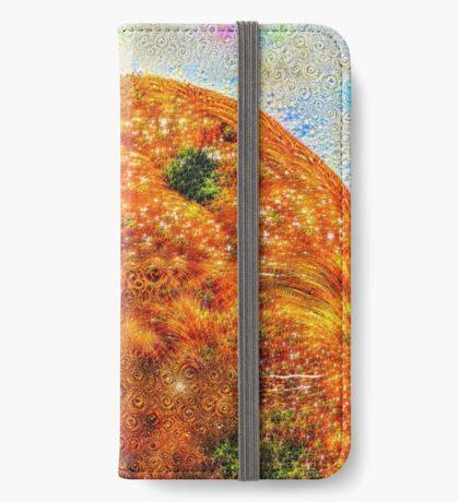 #DeepDreamed Frozen Orange iPhone Wallet