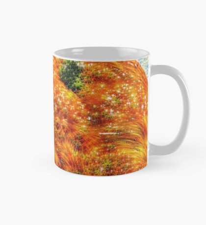 #DeepDreamed Frozen Orange Mug