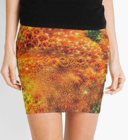 #DeepDreamed Frozen Orange Mini Skirt
