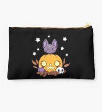 Pumpkin Cats Son // Black Studio Pouch