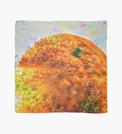 #DeepDreamed Frozen Orange Scarf