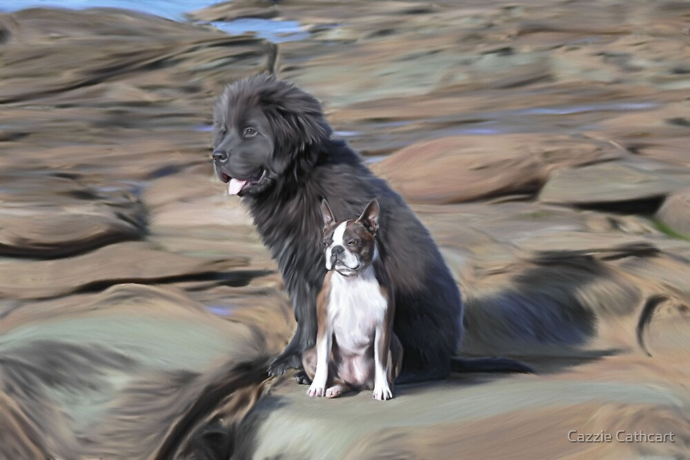 Amby & Stormy.. by Cazzie Cathcart