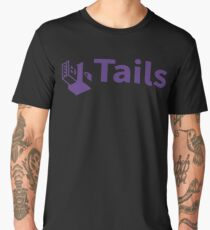 tails linux distribution Men's Premium T-Shirt