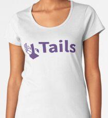 tails linux distribution Women's Premium T-Shirt