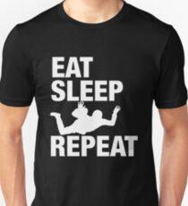 Eat Sleep Skydive And Repeat - I Love Sky Diving Tshirt T-Shirt