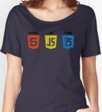 HTML, CSS and JS Women's Relaxed Fit T-Shirt