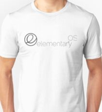 elementary OS linux distribution Unisex T-Shirt