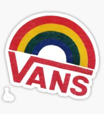 Vans Rainbow  Sticker