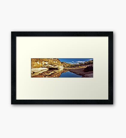 endless calm Framed Print