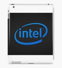Intel logo iPad Case/Skin