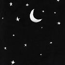 Moon & Stars  by meandthemoon