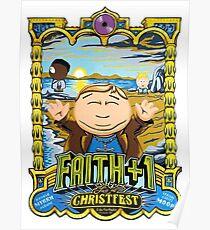 Faith+1 South Park Art Print 2017 Poster