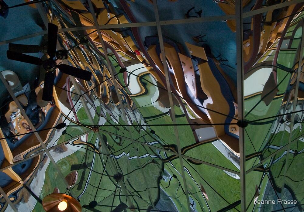 Kaleidoscope Ceiling by Jeanne Frasse