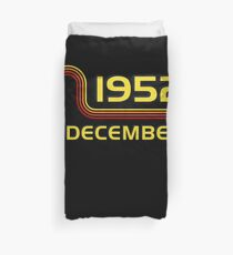 December Vintage Retro Birthday  1952  65th T-Shirt Sweater Hoodie Iphone Samsung Phone Case Coffee Mug Tablet Case Gift Duvet Cover