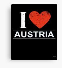I Love Austria Gift For Austrian AUSTRIA T-Shirt Sweater Hoodie Iphone Samsung Phone Case Coffee Mug Tablet Case Canvas Print