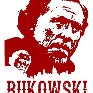Heinrich Karl Bukowski by prunellaauger