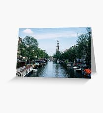 Down the Canal Greeting Card